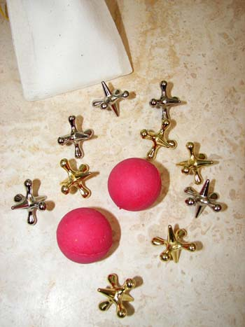 Jacks with Rubber Balls, click for more toys