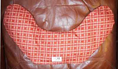 Neck heating pad for lower back