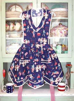 Victory Full Apron Old Fashion USA